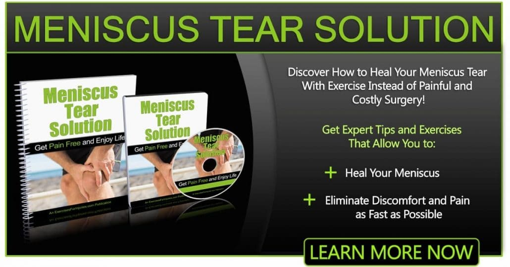 Promotional Blog Graphic for Meniscus Tear Solution-1