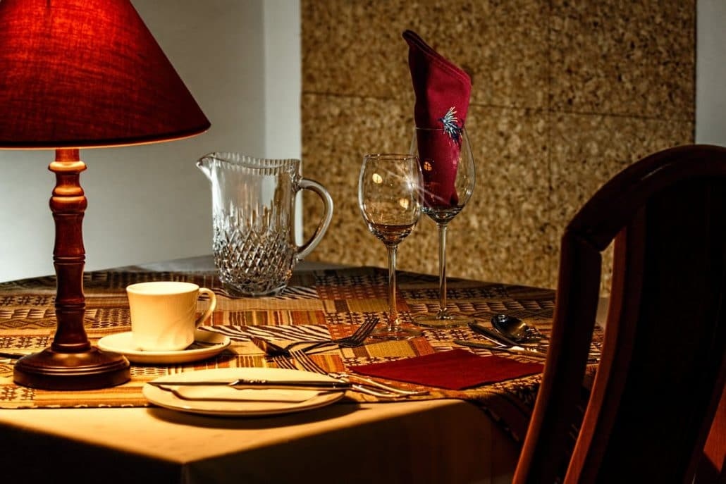 brown-and-red-table-lamp