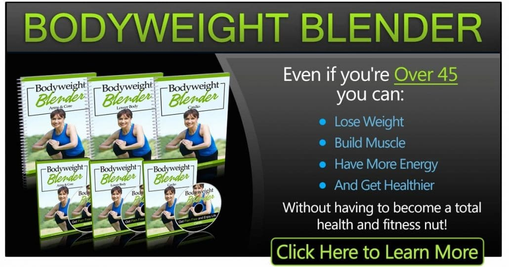 Promotional Blog Graphic for Bodyweight Blender