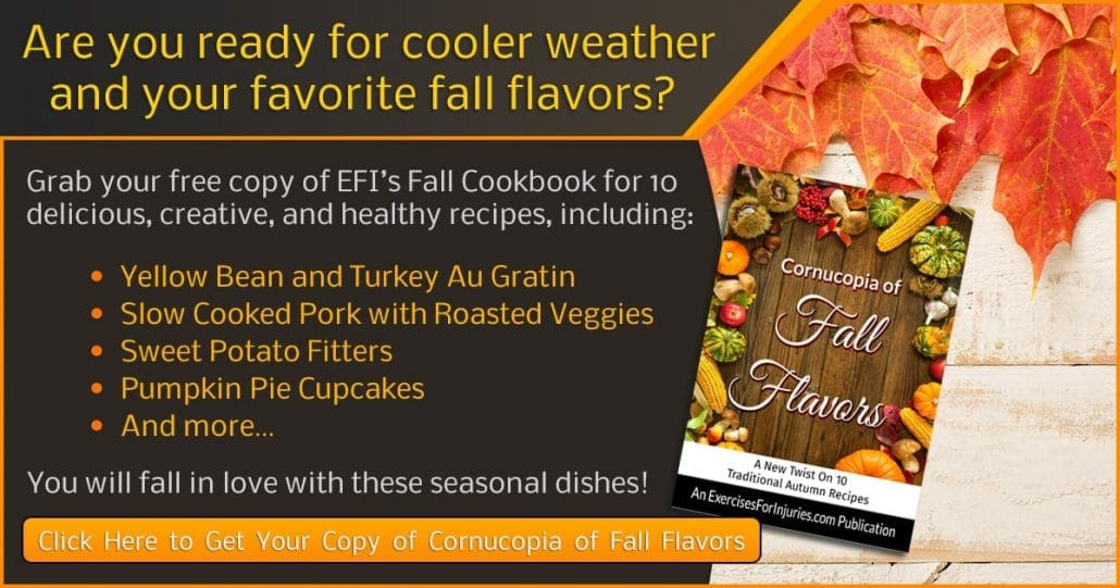 Promotional Blog Graphic for Fall Cookbook