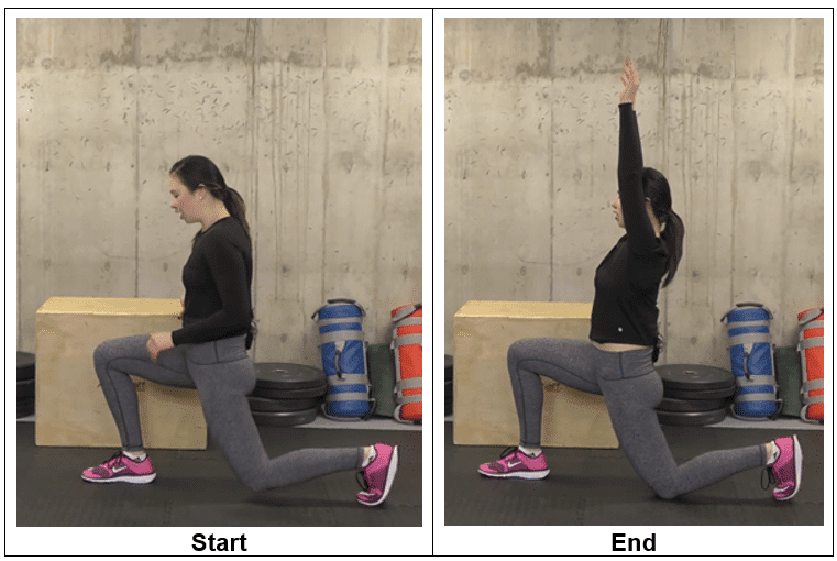 Low Lunge Hold