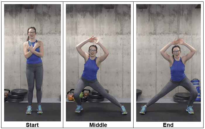 Standing Side Lunge