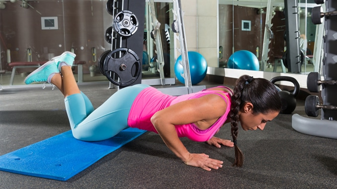 3 Easy Push Up Exercises For Beginners