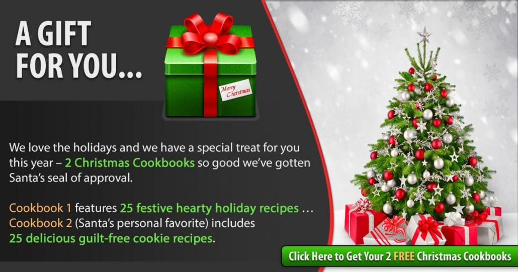 Promotional Blog Graphic for Christmas Cookbook 1