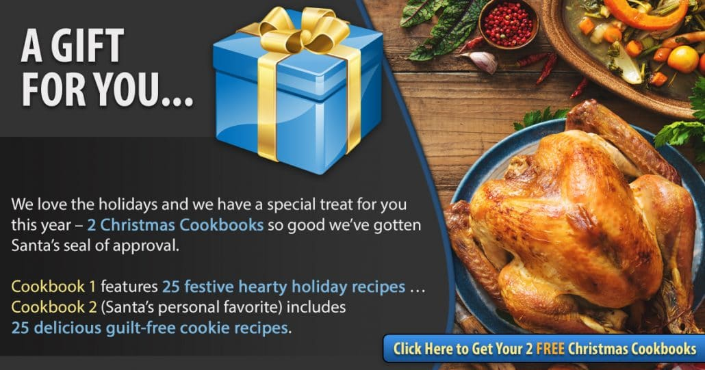 Promotional Blog Graphic for Christmas Cookbook 2