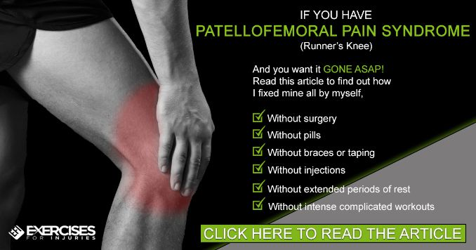 Patellofemoral Syndrome Solution