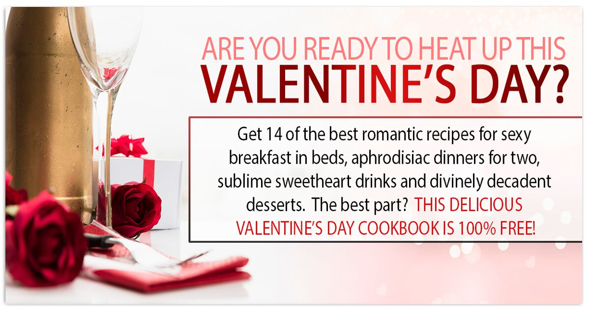Promotional Blog Graphic for Valentines Day Cookbook