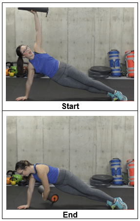 Side Plank to Reach