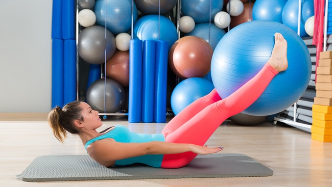 4 Of The Best Stability Ball Exercises You're Probably Not Doing
