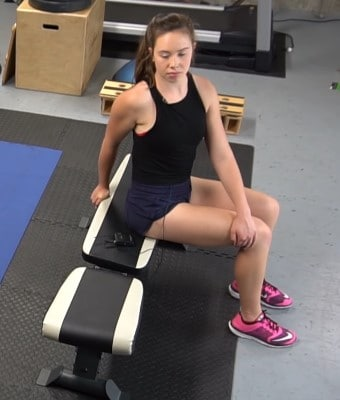Low Back Rotation Stretch