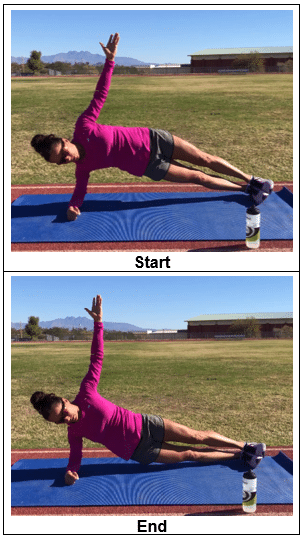 Side Plank With Dips