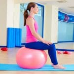 5 Low-impact Moves With the Exercise Ball