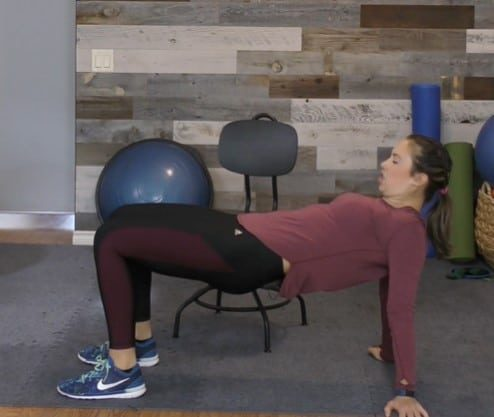 Alternative Chair Stretch Exercise