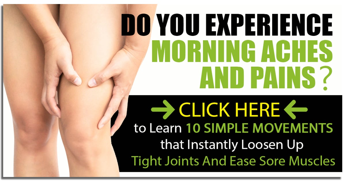 Promotional Blog Graphic for Top 10 Morning Movements to Loosen Up Your Joint