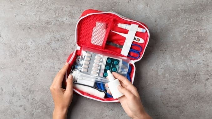 have a first aid kit