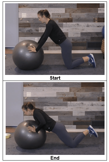 push-up from knees