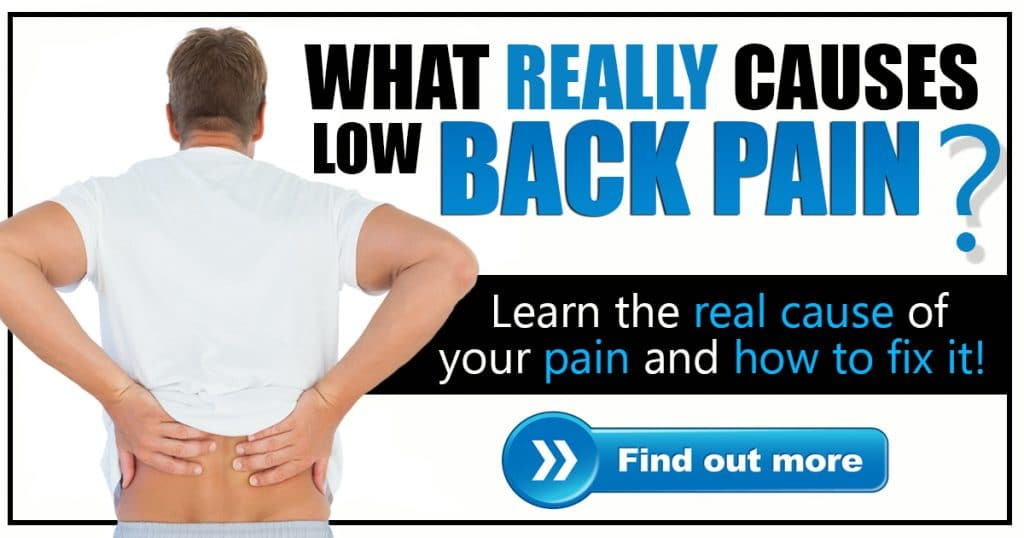 Promotional Blog Graphic for Low Back Pain Solved