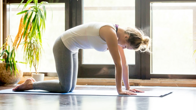 5 Yoga Poses for Stress Relief
