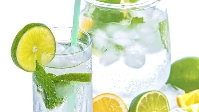 water-lime-mint