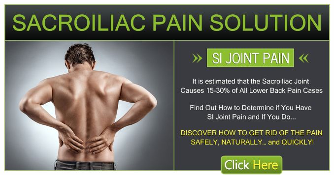 Sacroiliac Pain Solution