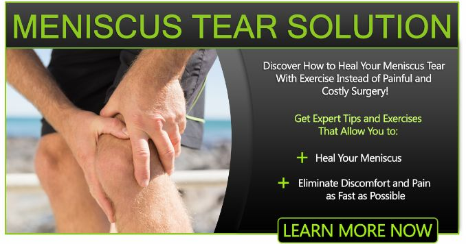 Meniscus Tear Solution