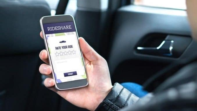 Ride share customer