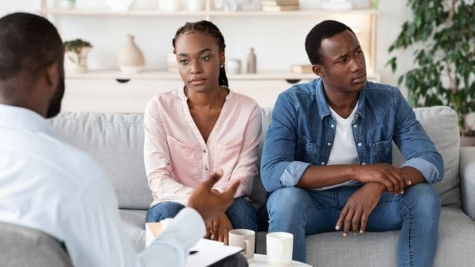 Depressed African Spouses