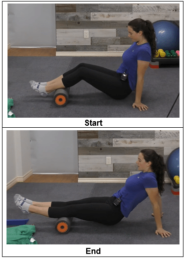 Foam Roll Calf