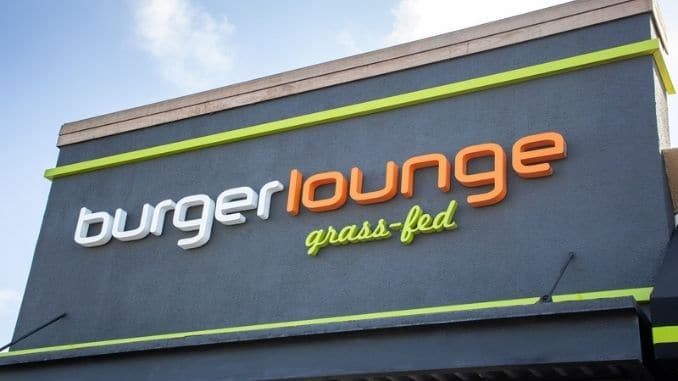 Burger Lounge sign