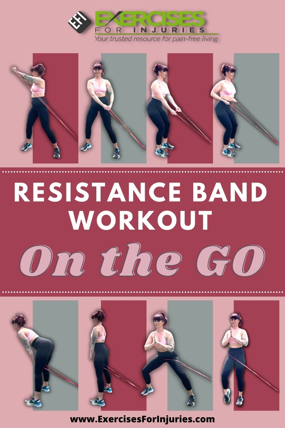 Resistance Band Workout On the Go 1