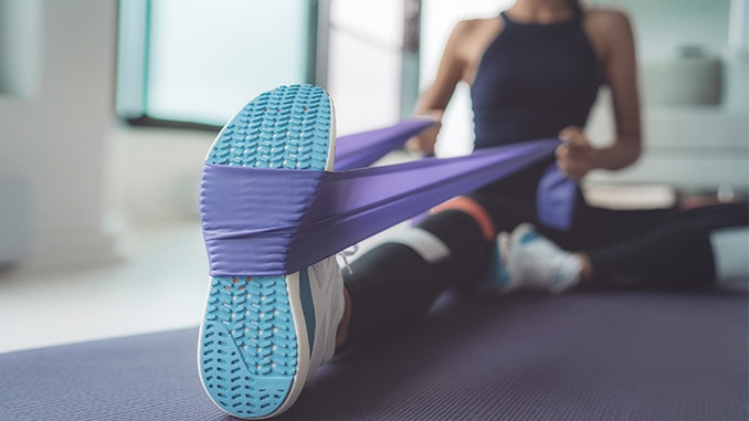 Resistance Band Workout On the Go