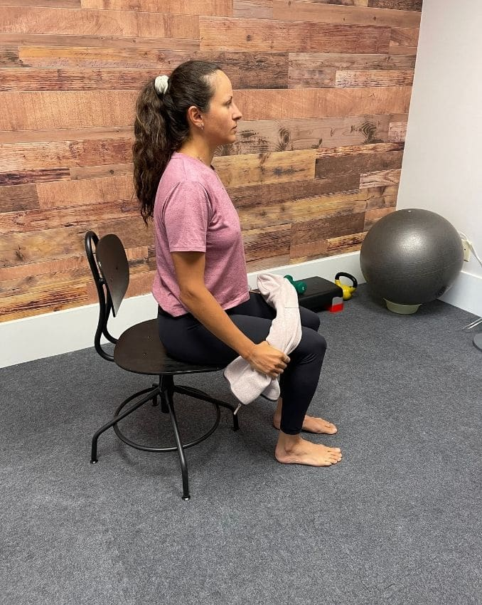 Assisted Hip Flexion 1