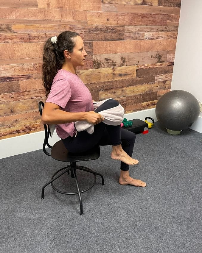 Assisted Hip Flexion 2