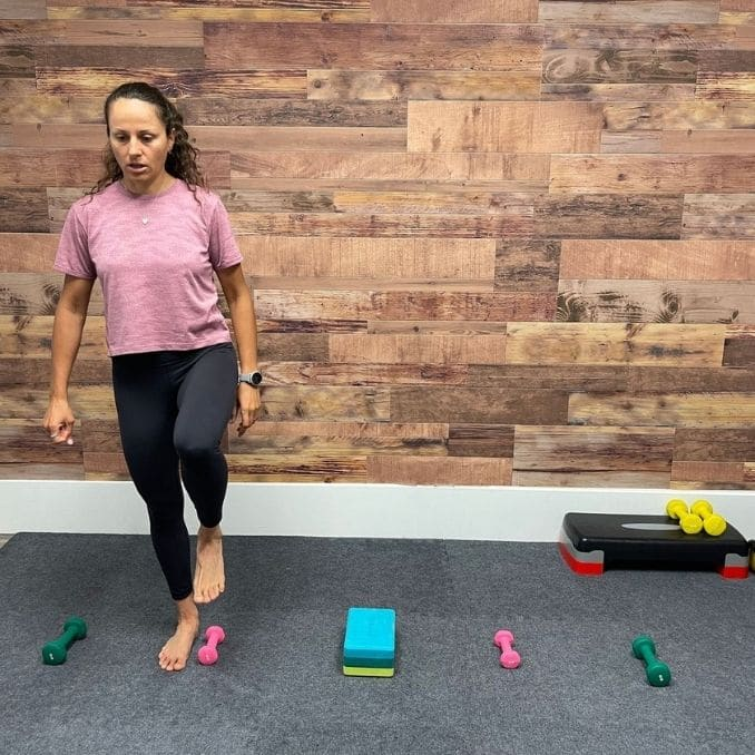 Lateral Gait Training 1